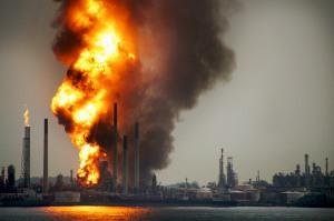 Singapore Refinery Blast